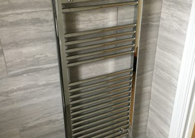 Chrome Towel Rail Installation – Northwood